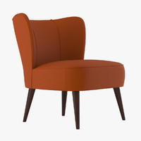 perry-chair chair 3d max