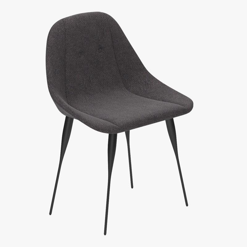 siglo moderno fency chair dwg