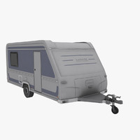 travel trailer lp 3d model
