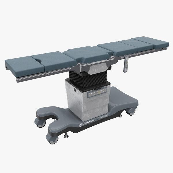 3d model medical operating table promerix