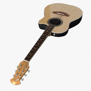 ovation guitar 3d max