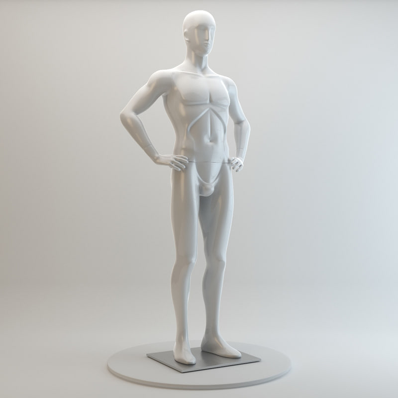 - bonaveri man mannequin 3d max