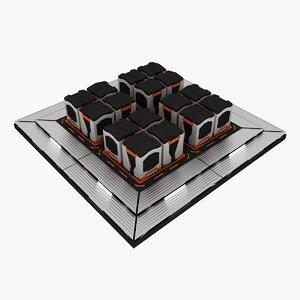 max sci fi container