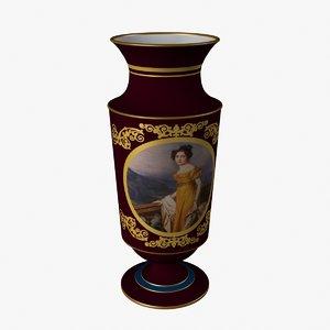 portrait vase 3d model