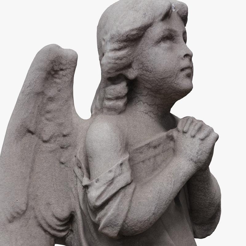 model angel statue