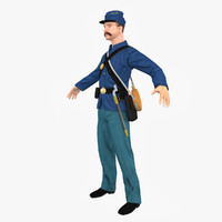3d union army solider
