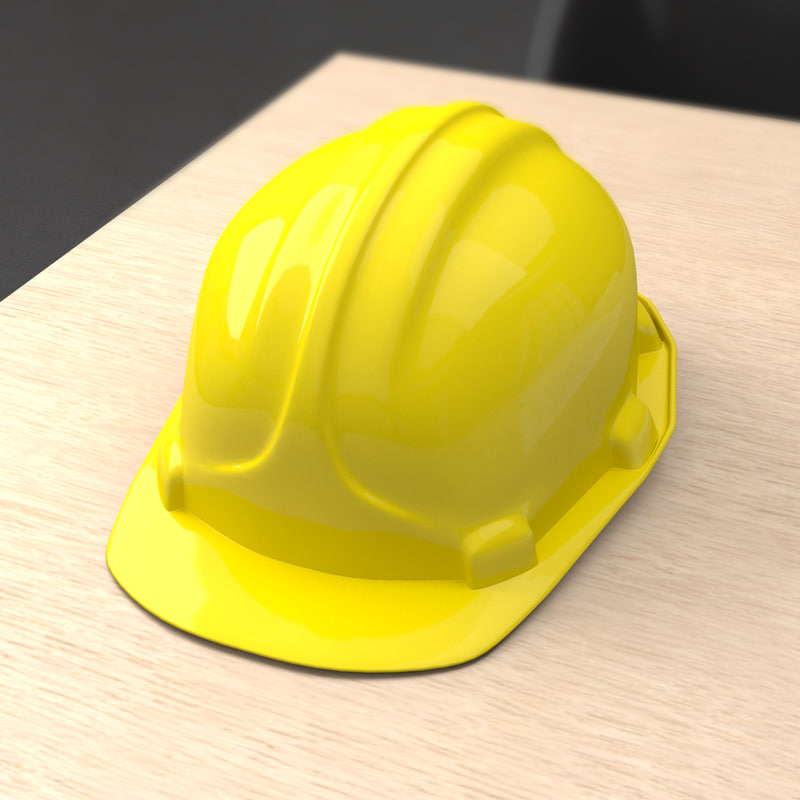 hard hat 3d model