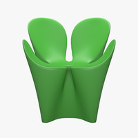driade clover chair 3ds