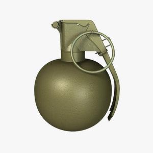 maya m67 grenade