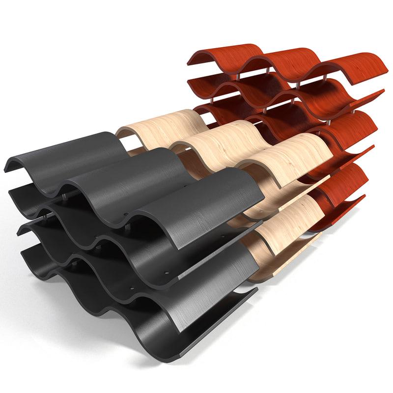 lightwave wine rack 6