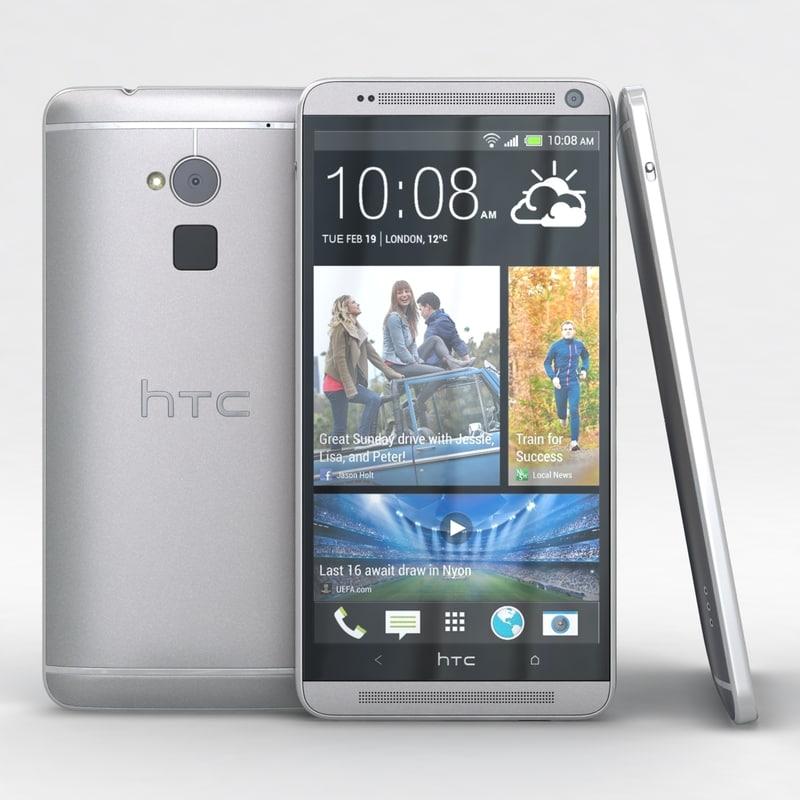 3d htc cellphone hdri model