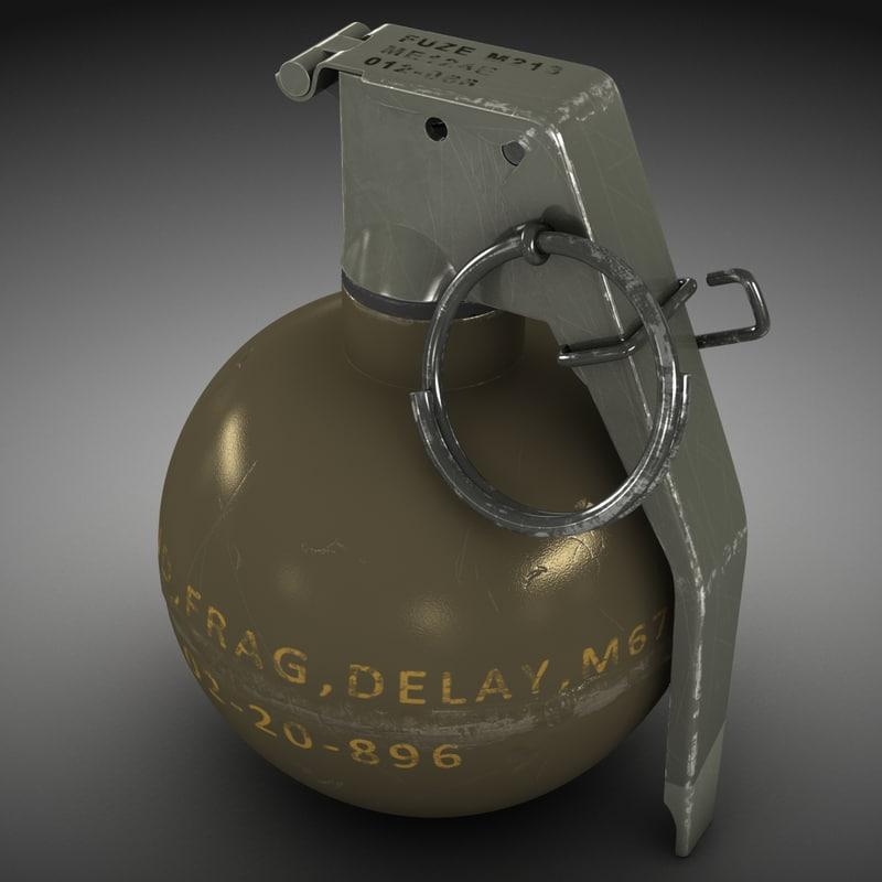 m67 hand grenade max