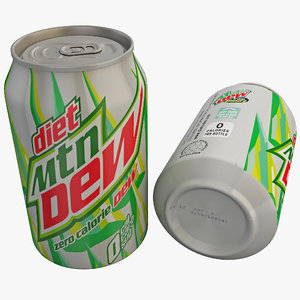 max diet mountain dew