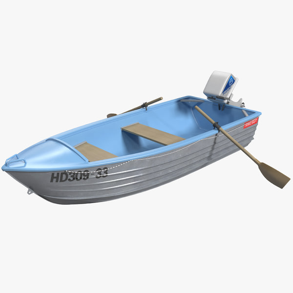 3d model trimcraft boat