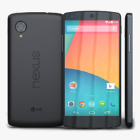 3d lg google nexus 5 model
