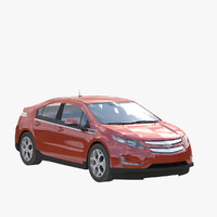 3d chevy volt model