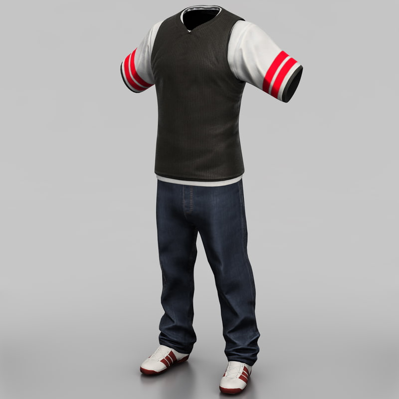 3ds mens casual clothing