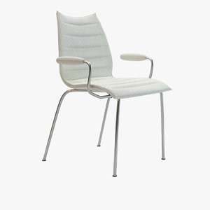 3d model kartell maui soft chair