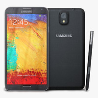 samsung galaxy note 3 3d model