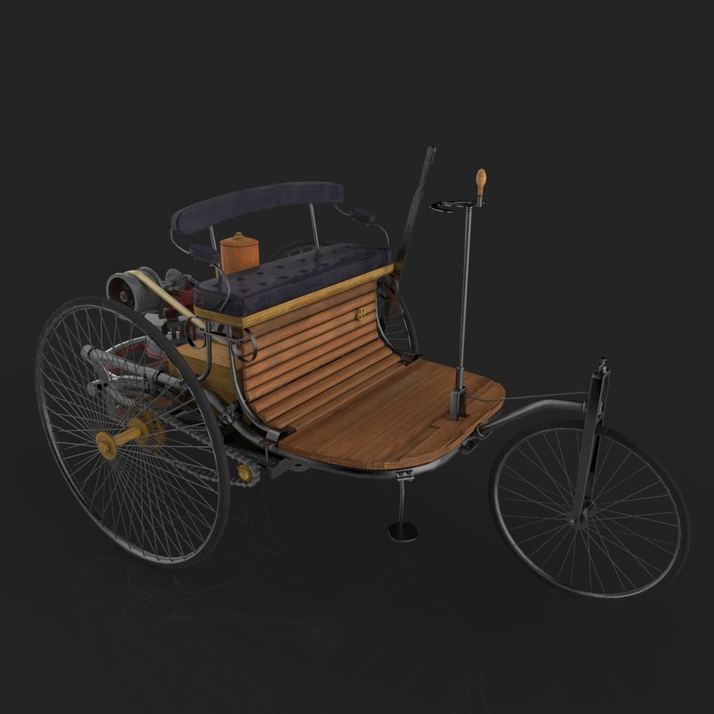 max 1886 benz patent motor car