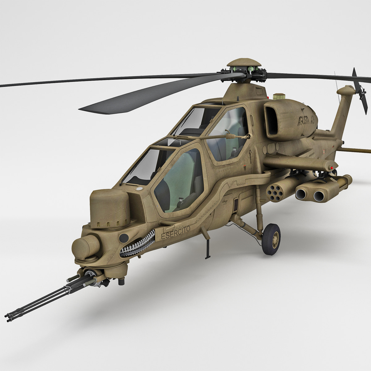 max agusta a129 mangusta helicopter