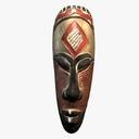 African Mask 3D models