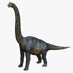 max brachiosaurus dinosaur animation