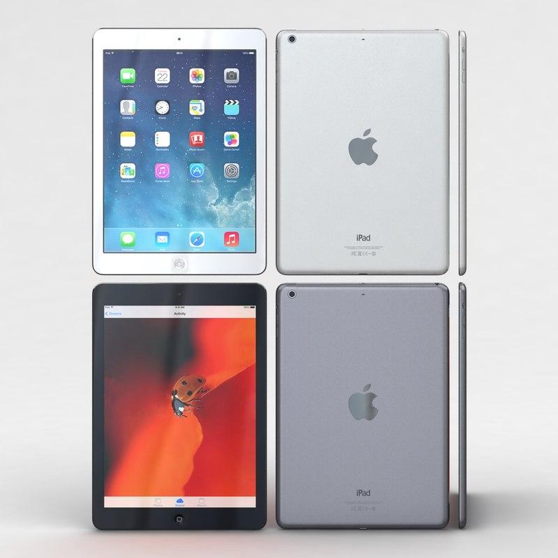 apple ipad air space max