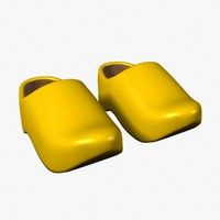3ds max clogs shoes footwear