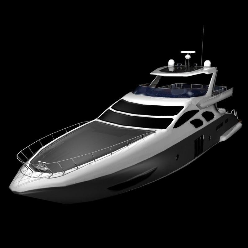 3d azimut 100 flybridge yacht