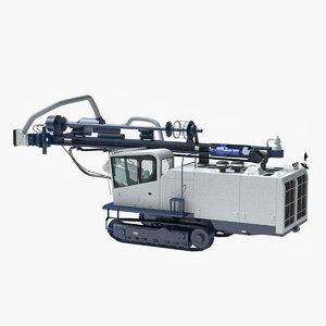 dth dcr 20 drill 3d max