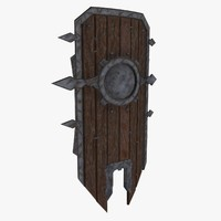 Low Poly Shield