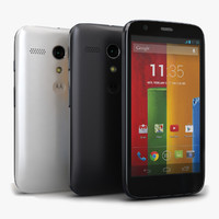 Motorola Moto G & G Dual SIM Black-White