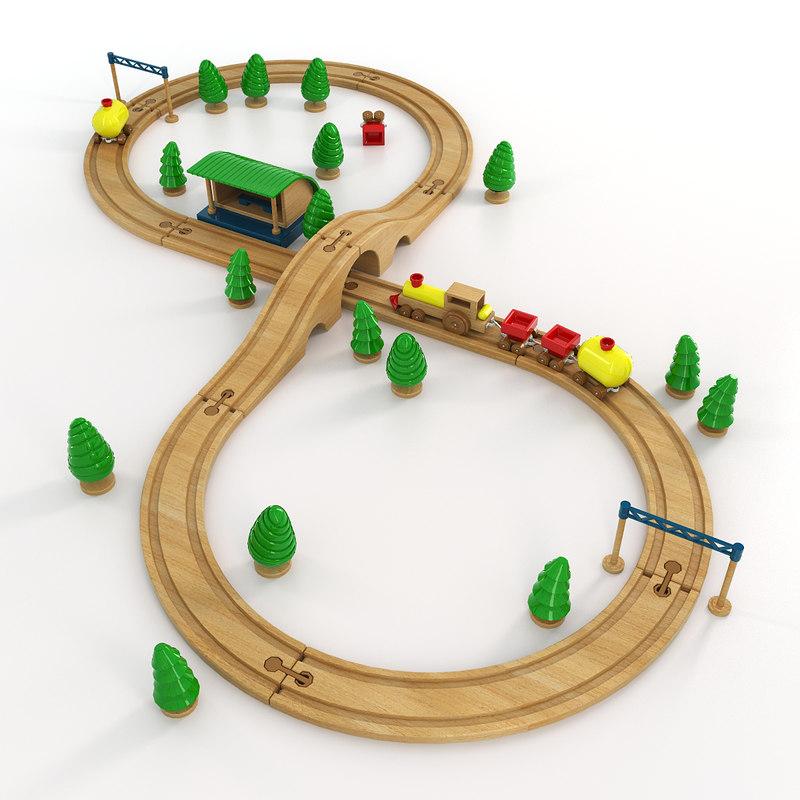 children s way toy 3d max