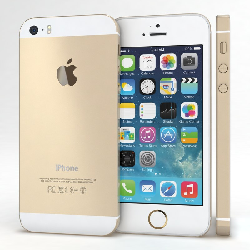 max apple iphone 5s gold