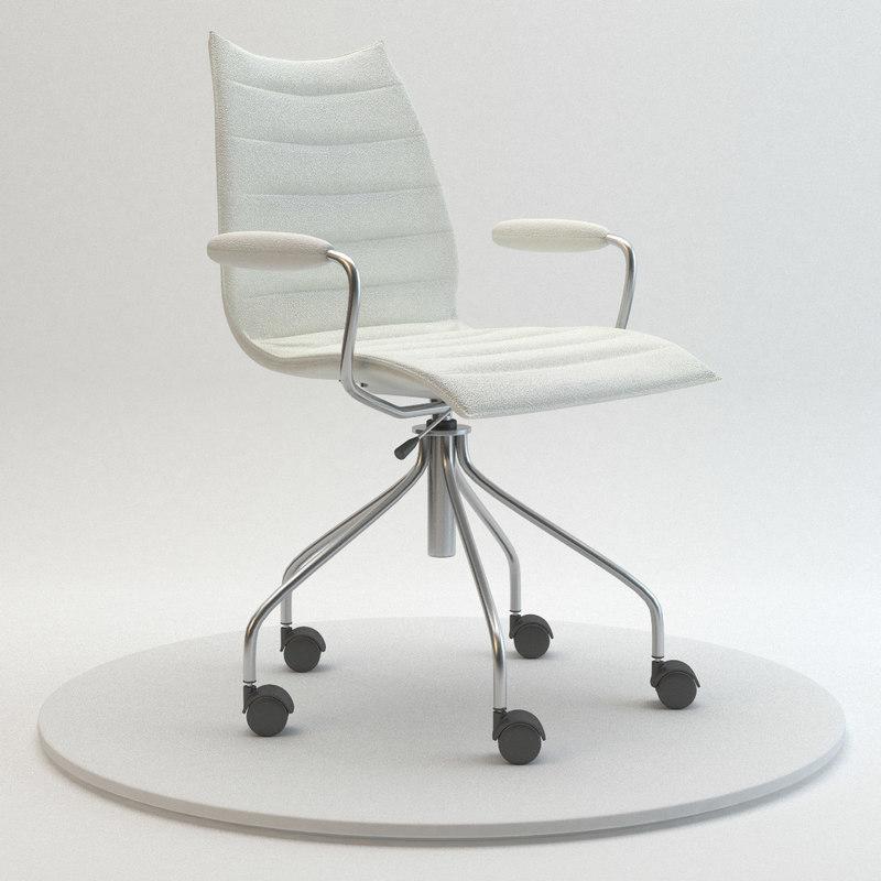 3ds kartell maui soft chair