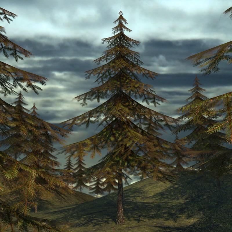 obj forest environment asset