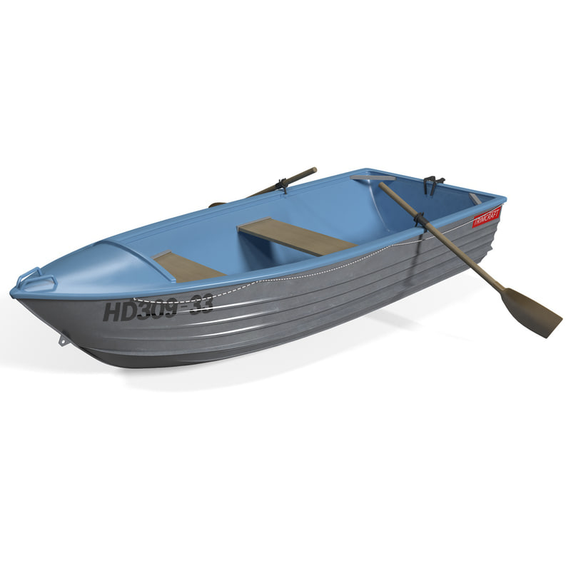 trimcraft boat 3 3d model