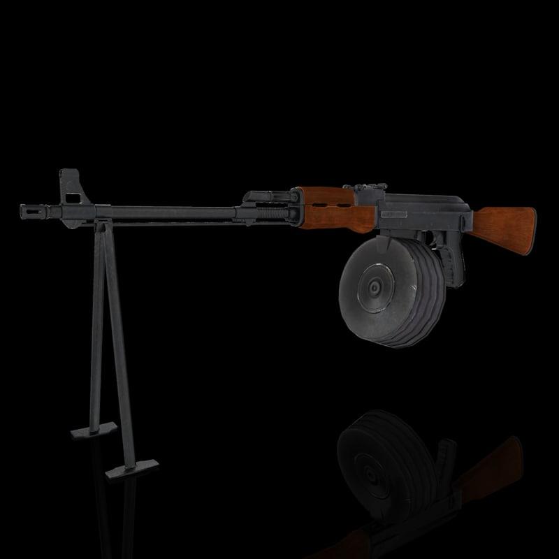 3d model of rpk