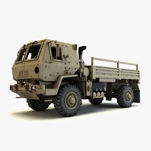 oshkosh fmtv m1078 armored 3d max