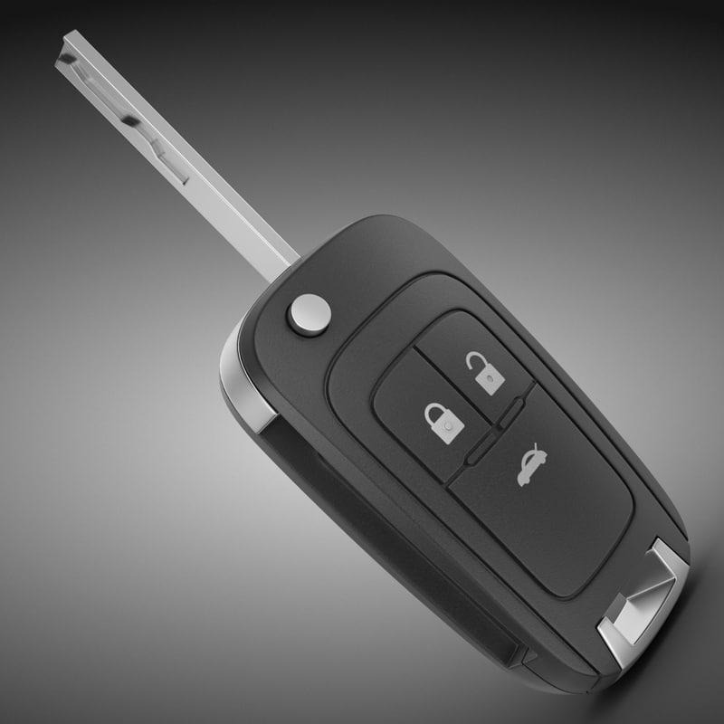 car key 3d max
