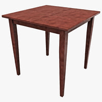 max winsome wood square dining table