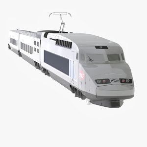 3d 3ds tgv train