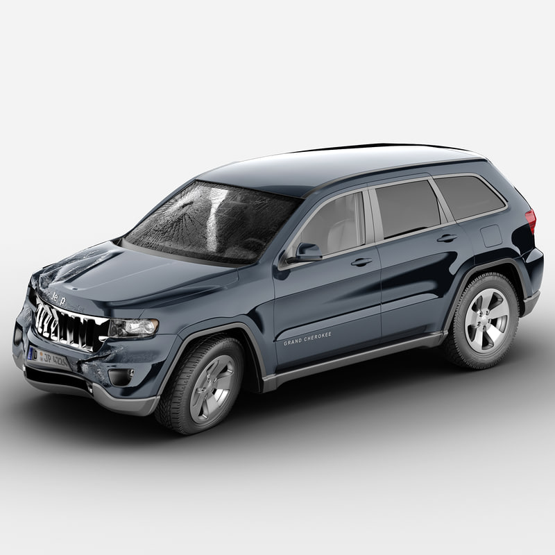 jeep grand cherokee 2012 3d max
