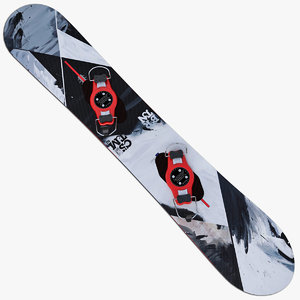 3d max snowboard olympic