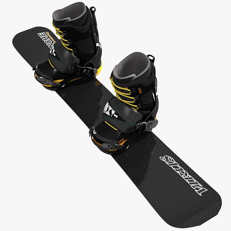 3d soft boots snowboard