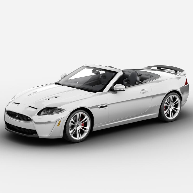 xkr-s 2013 3d model