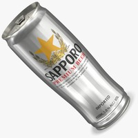 sapporo lighting 3d model