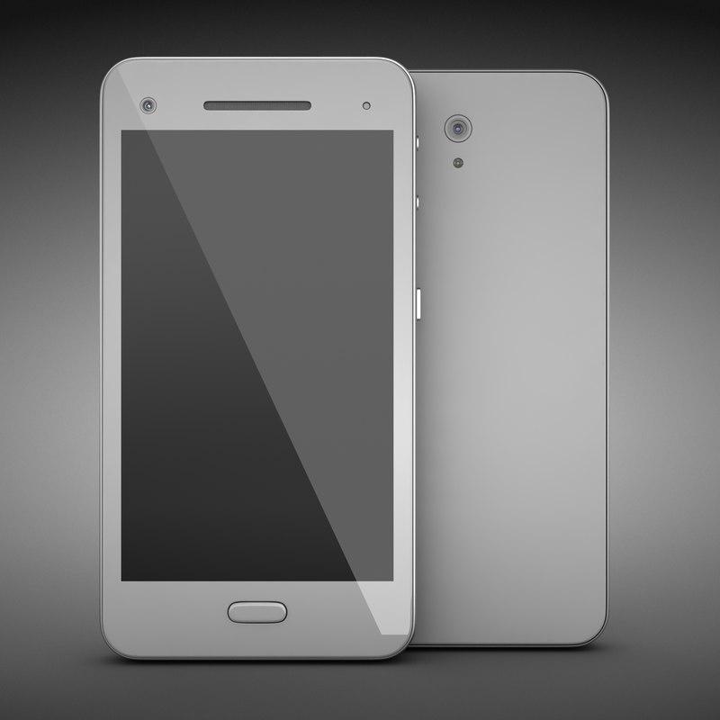 smart phone 3d max