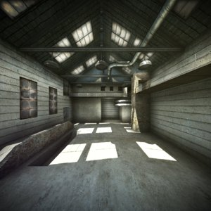 3d military warehouse